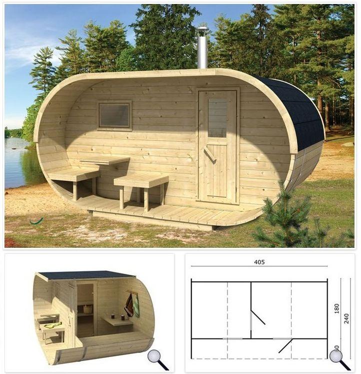 Sauna art.BR-Oval