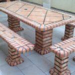 Tavolo + panche da giardino art.JVP8