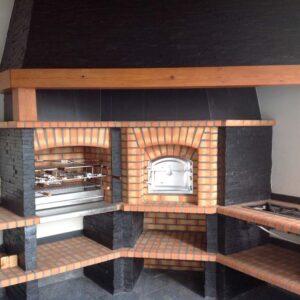 Barbecue-in-pietra